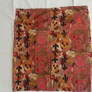 aboriginal design cushion 60 cm