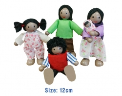 ethnic doll house dolls
