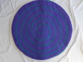 purple fairy mat