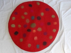 red spot fairy mat