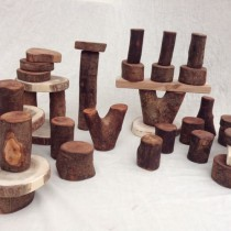 32 Lychee Wooden Block Set is a popular product available through Leave it to Leslie
