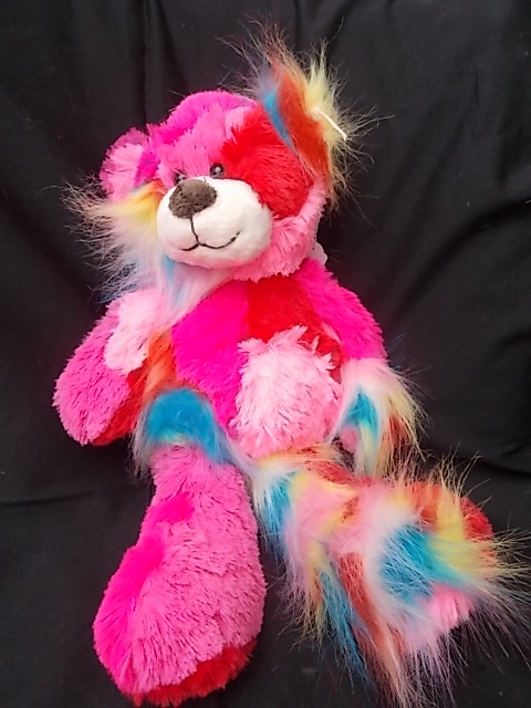 tactile fantasia bear pink