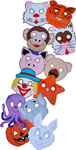 animal masks set of 12