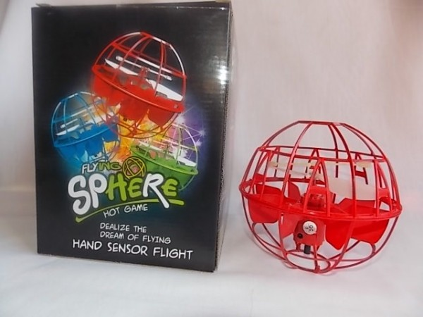 flying sphere