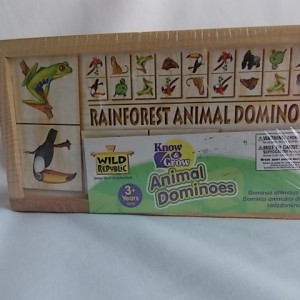 rainforest animal dominoes