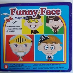 Funny Face Magnetic game is available through Leave it to Leslie
