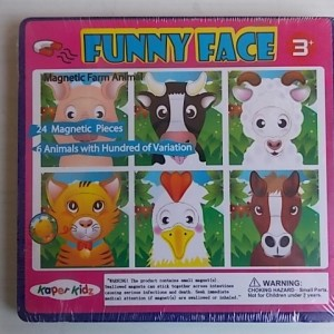 funny face farm animals