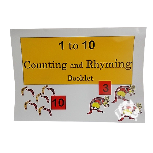 1_to_10_Counting_and_Rhyming_Booklet_Aboriginal_Book_LitL