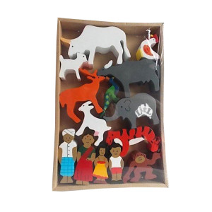 indian family set