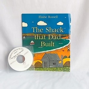talking book the shack that dad built