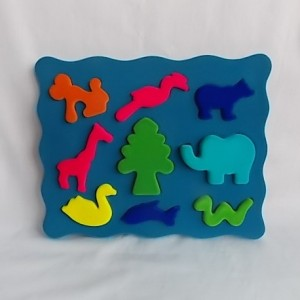 3 d animal shape sorter