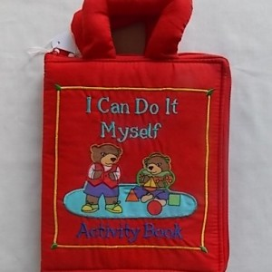 i can do it myself cloth book