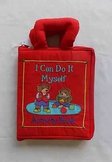 i can do it myself cloth book