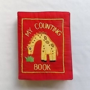 my counting cloth book