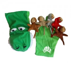 five little monkeys hand puppet