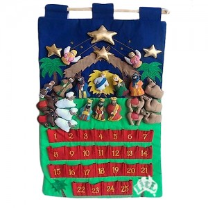 nativity scene wall chart