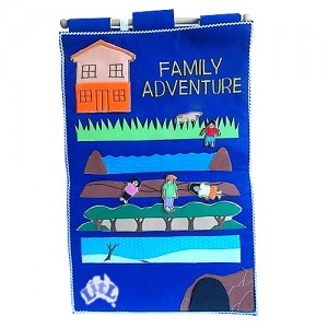 family adventure wall chart