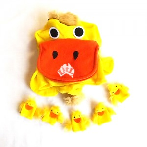 five little ducks hand puppets