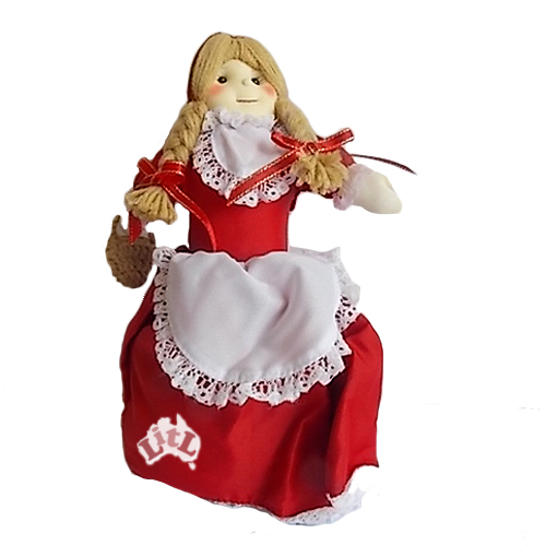 red riding hood reversible doll