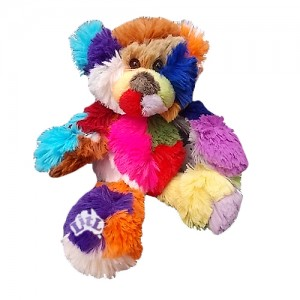 sherbert tactile teddy bear