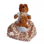 goldilocks & the three bears reversible doll