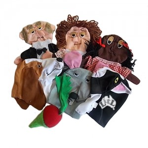 the great big enormous turnip hand puppets