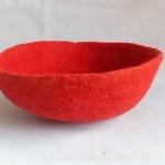 felt bowl 18 cm dia