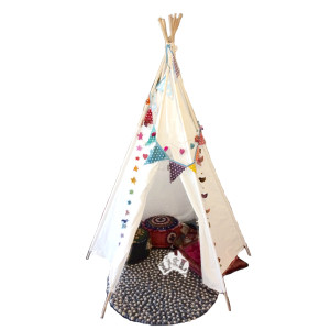 teepee decorated litl