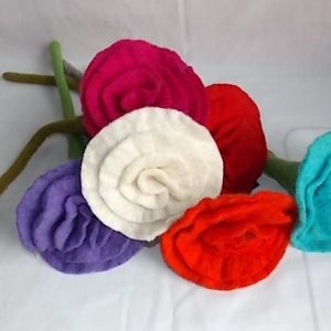 decorative felt flower