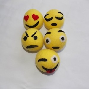 set five feelings felt balls