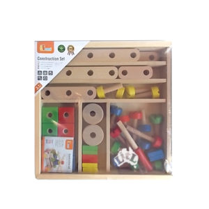 wooden screw construction set 53 pc
