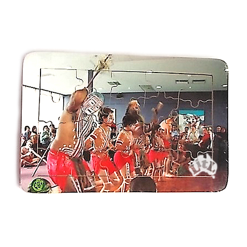 aboriginees dancing puzzle