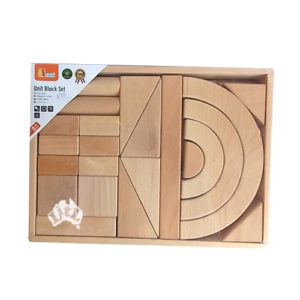 raw wooden blocks 42 pc