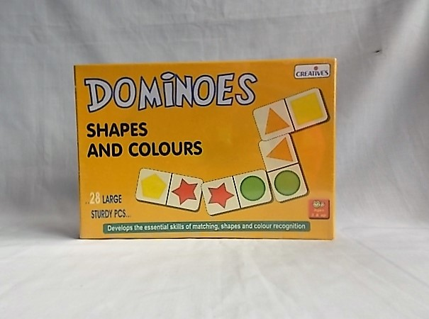 dominoes shapes and colours