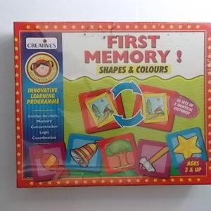 first memory shapes & colours
