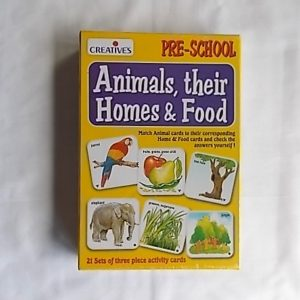 animals their homes and food