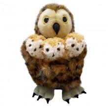 owl babies puppet set
