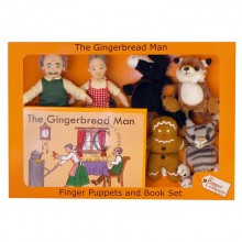 traditional story telling set the gingerbread man