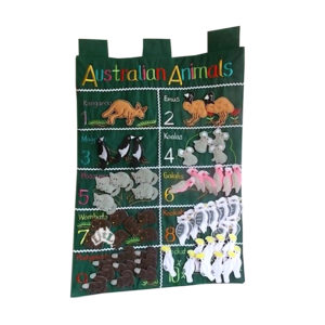 australian animals wall chart