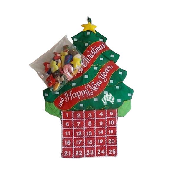 christmas tree countdown chart
