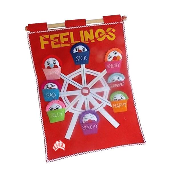 feelings wall chart