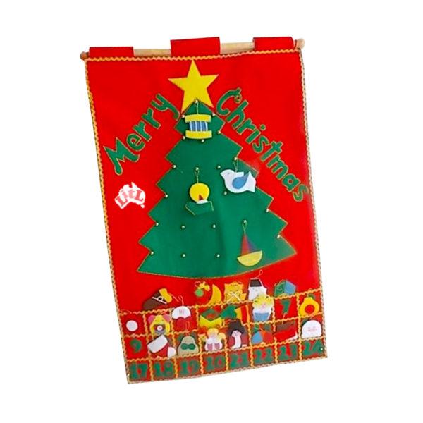 merry christmas wall chart