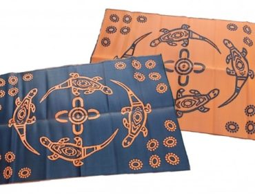 recycled mats aboriginal designs