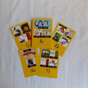 aboriginal alphabet card