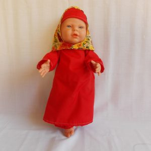 doll's clothes muslim girl