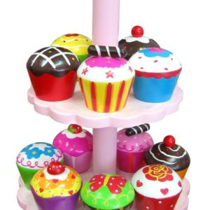 12 piede cupcake set with stand