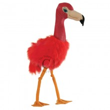 giant bird flamingo puppet