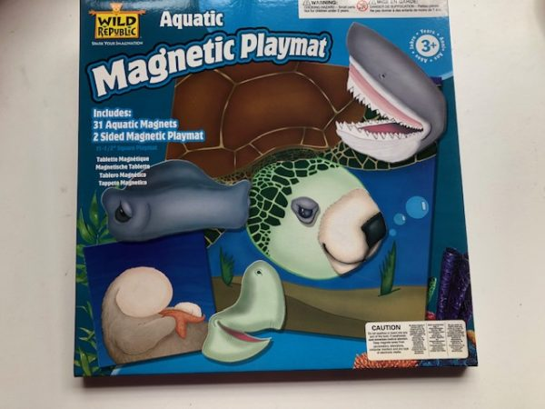 aquatic magnetic playmat
