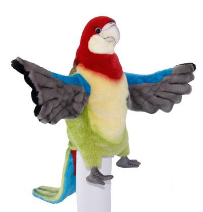 rainbow lorikeet puppet