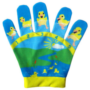 5 little ducks song mitt